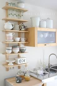 small kitchen shelving ideas sweet small kitchen ideas and great kitchen hacks for diy 3