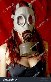 Halloween Costumes With Gas Mask by Portrait Woman Gas Mask Over Stock Photo 333683783 Shutterstock
