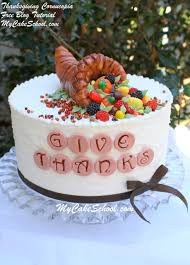 thanksgiving cornucopia a tutorial my cake school