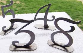 Wedding Table Number Ideas Creative Table Numbers
