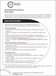 Sample Resume For International Jobs by Qa Auditor Cover Letter Judicial Council Form Complaint Senior