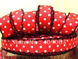 cheap ribbon for sale aliexpress buy kerry ribbon free shipping 7 8 dot printed