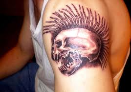 25 exciting skull tattoos for men creativefan