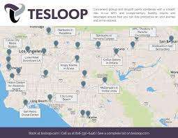 Chino Hills California Map Where Do I Get On Tesloop And Where Will You Drop Me Off Tesloop