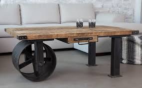 industrial coffee table with wheels furniture industrial style coffee table ideas high resolution