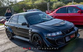 evo mitsubishi black fresh import 2000 evo 6 tommi makinen black varis kit mitsubishi