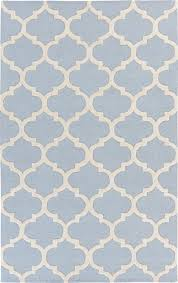 Blue And White Area Rugs Artistic Weavers Pollack Stella Light Blue White Rug For And Area