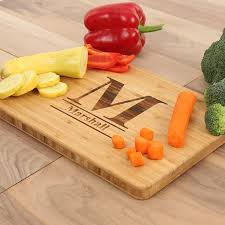 personalized engraved cutting board cuttingboards net standard monogram engraved cutting board a