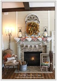 farmhouse style from my front porch to yours fall mantel 2015 farmhouse style