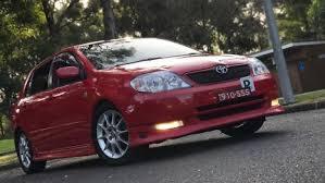 toyota corolla sportivo for sale toyota corolla sportivo cars vans utes gumtree australia