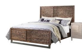 Yardley Bedroom Furniture Sets Acme Furniture Andria Reclaimed Oak Panel Bed U0026 Reviews Wayfair