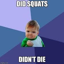Squat Meme - squat meme barbell pilates with trish dacosta