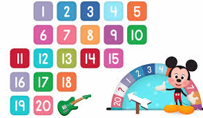 learn numbers disney buddies 123s kids counting numbers 1 to 20