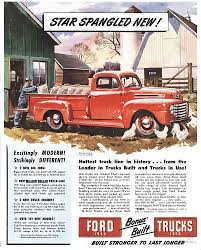 Classic Ford Truck Seat Covers - classic ford trucks featured in vintage ads