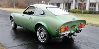 green opal car enjoy as is or restore 1971 opel gt