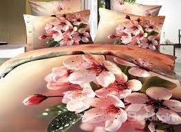 Cherry Blossom Comforter Sets 3d Bedding Sets Look Amazingly Real The Latest Trend