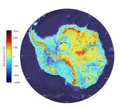 Map Of Antarctica Here U0027s What Antarctica Looks Like Under All The Ice Smart News