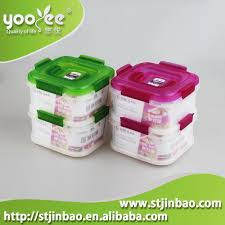 Plastic Storage Containers Dividers - factory wholesale freezer safe plastic food storage container with