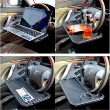 Car Laptop Desk by Lap Desk With Storage And Cup Holder Best Home Furniture Decoration