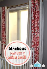 Blackout Curtains For Baby Nursery Our House In The Middle Of Our Street Blackout Curtain Panels For