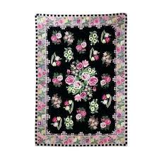 light pink wool rug pink rose rug chain stitched wool rug roses of pink light pink rose