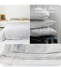 Natural Linen Curtain Fabric Bed Linen In Natural 100 Linen
