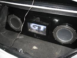 how to make a fiberglass subwoofer box 19 steps with pictures ford mustang forum view single post fiberglass subwoofer