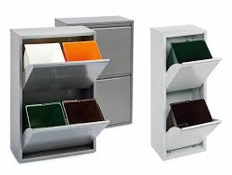 3 Bin Cabinet Designing For Disposal Part 3 Recycling Stations Core77