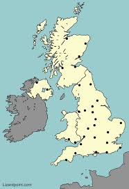 map uk test your geography knowledge uk major cities lizard point
