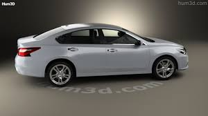 nissan altima 2016 with rims 360 view of nissan altima sl 2016 3d model hum3d store