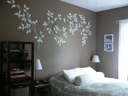 Wall Painting Designs For Bedroom Exquisite On Bedroom Wall - Paint designs for bedroom