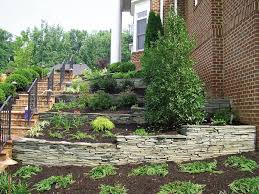 Terraced Retaining Wall Ideas by Front Yard Landscaping Ideas Angie U0027s List
