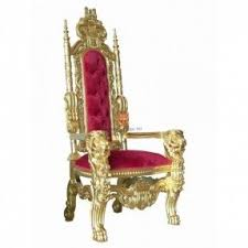 Throne Style Chair Lion Arm Chairs Foter