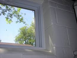 Block Windows For Basement - replace window in basement with block construction rebrn com