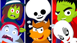 Youtube Halloween Movies For Kids Happy Halloween Song Scary Rhyme For Kids Halloween Music For
