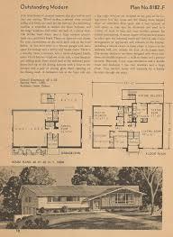 vintage house plans mid century homes vintage homes mid