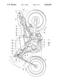 patent us5291067 electric circuit system for motorcycle google