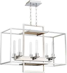craftmade 41526 ch cubic contemporary chrome 30