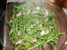 cuisiner des haricots verts frais recette de haricots verts au lard