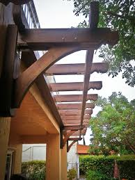 Pergola Rafter Tails by Pergola Design Ideas Creative Images Wall Mounted Pergola Wall