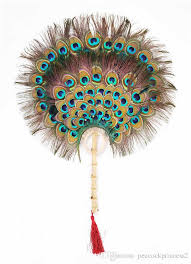 peacock feather fan 2018 2018 hot sell peacock feather fan handmade craft top