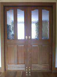 classy style for double pocket doors interior design with solid