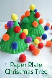 creative family fun paper plate christmas tree christmas