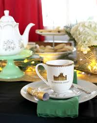 how to host a downton abbey winter tea party persia lou