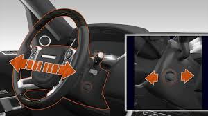 range rover steering wheel range rover sport seat adjustment br youtube