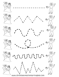 free printable worksheets for preschool preschool tracing