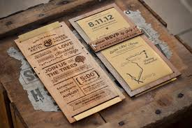 wooden wedding invitations wooden wedding invitations plumegiant