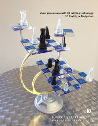 star trek 3d chess set all the chess pieces were printed using