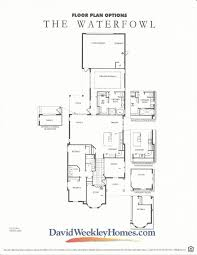 oakland park waterfowl floor plan 2 by david weekly homes in