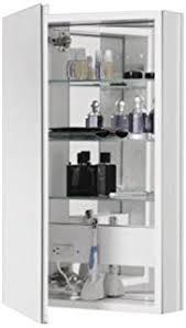Medicine Cabinet With Electrical Outlet Amazon Com Krugg Kinet1830led Medicine Cabinet Lighted Sliding